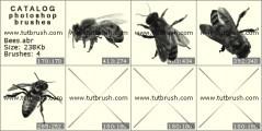 Кисть фотошоп Пчелы