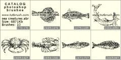 Download кисти фотошоп морские твари