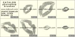 Download кисти фотошоп отпечаток поцелуя