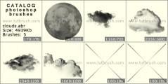 Download кисти фотошоп Облака и небо