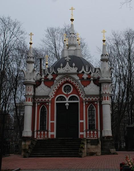22. Храм святителя Николая на Преображенском кладбище.  Престолы: северный - свт.