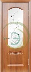 Двери с орнаментом