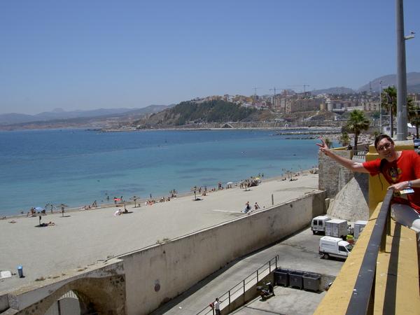 Ceuta - beach