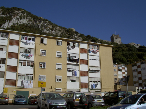 Гибралтар - путешествие в июле 2008. El enemigo no pasara!
