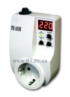РН 101 М просто включается в розетку.  РН 111 М + контактор ABB ESB 40-40 ( или 63-40 ) которые устанавливаются...