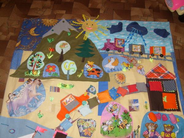 Фото ковриков для детей своими руками