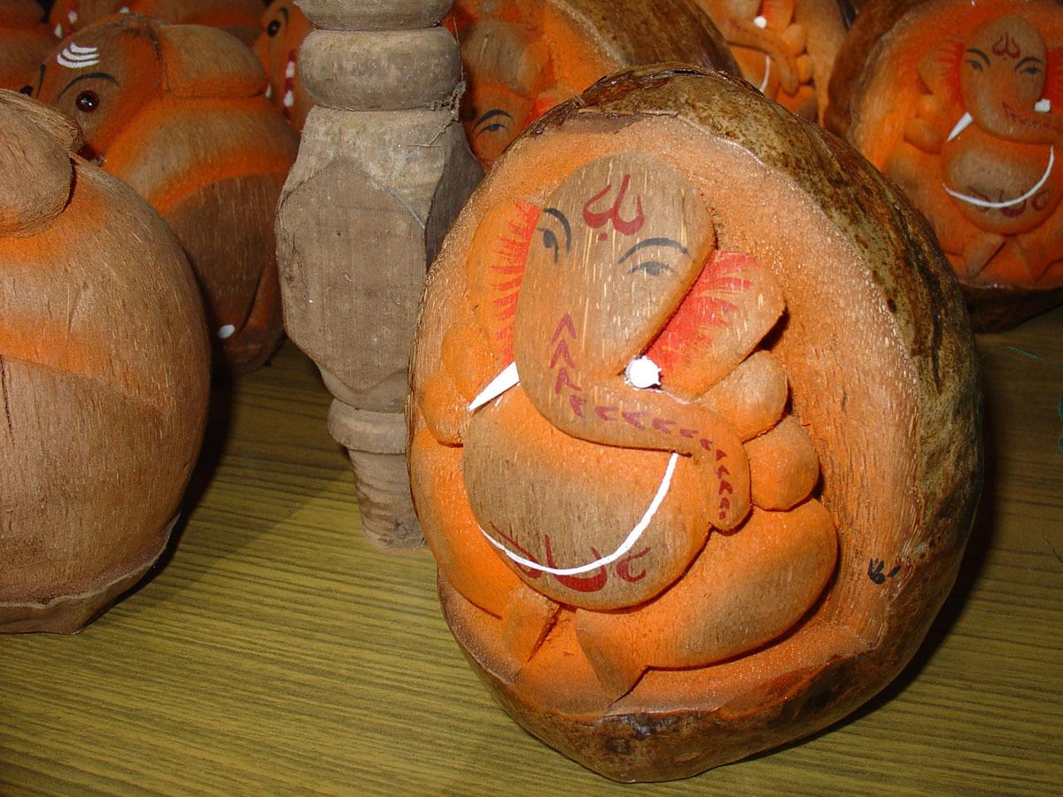 Поделки из кокоса для детей фото своими руками