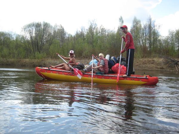 сплав по реке Кокшага