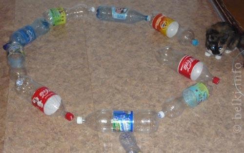 Домик для хомяка из пластиковой бутылки своими руками 695