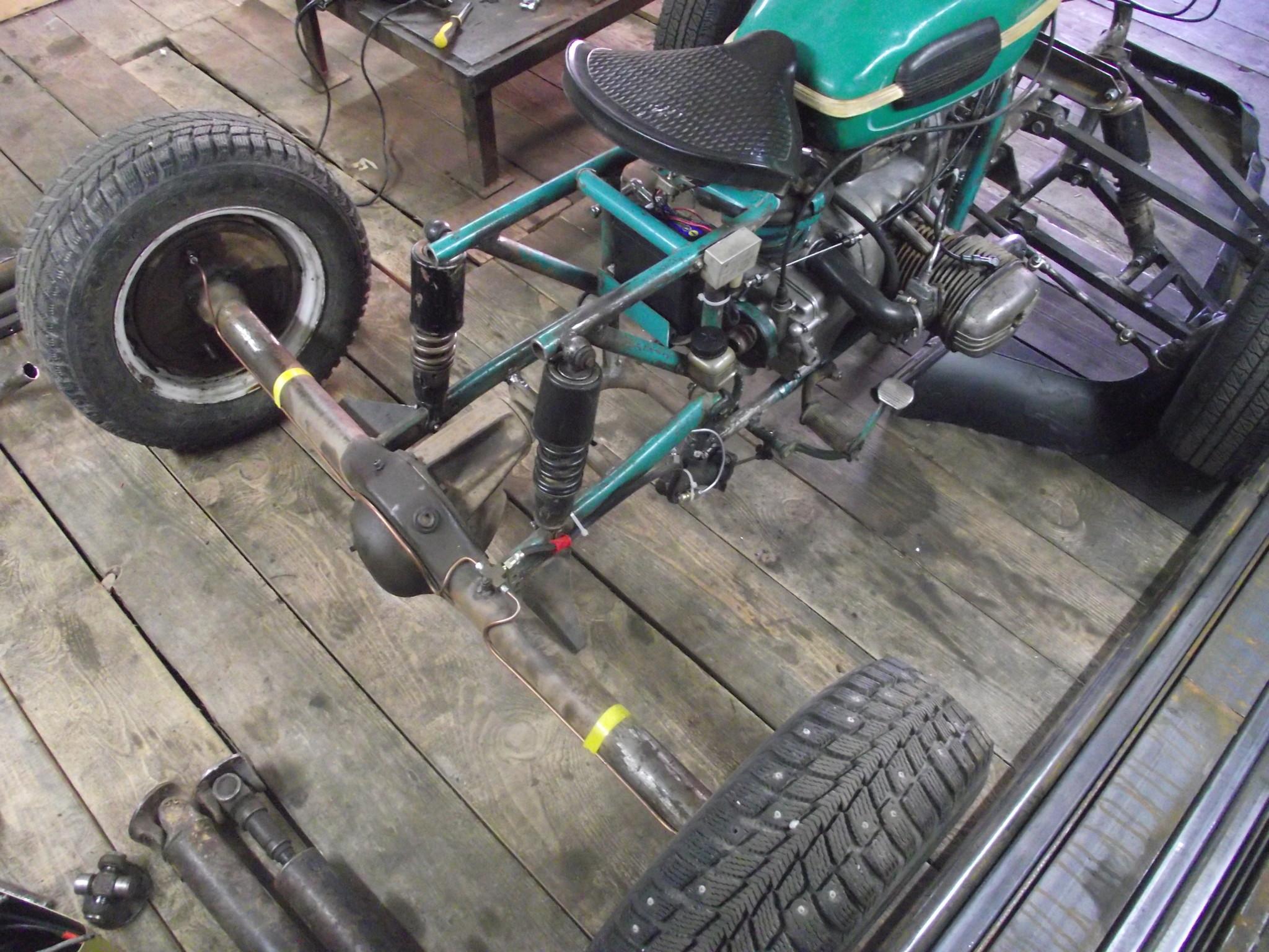 Чертежи квадроцикла на базе «Урала» - Квадроциклы 36