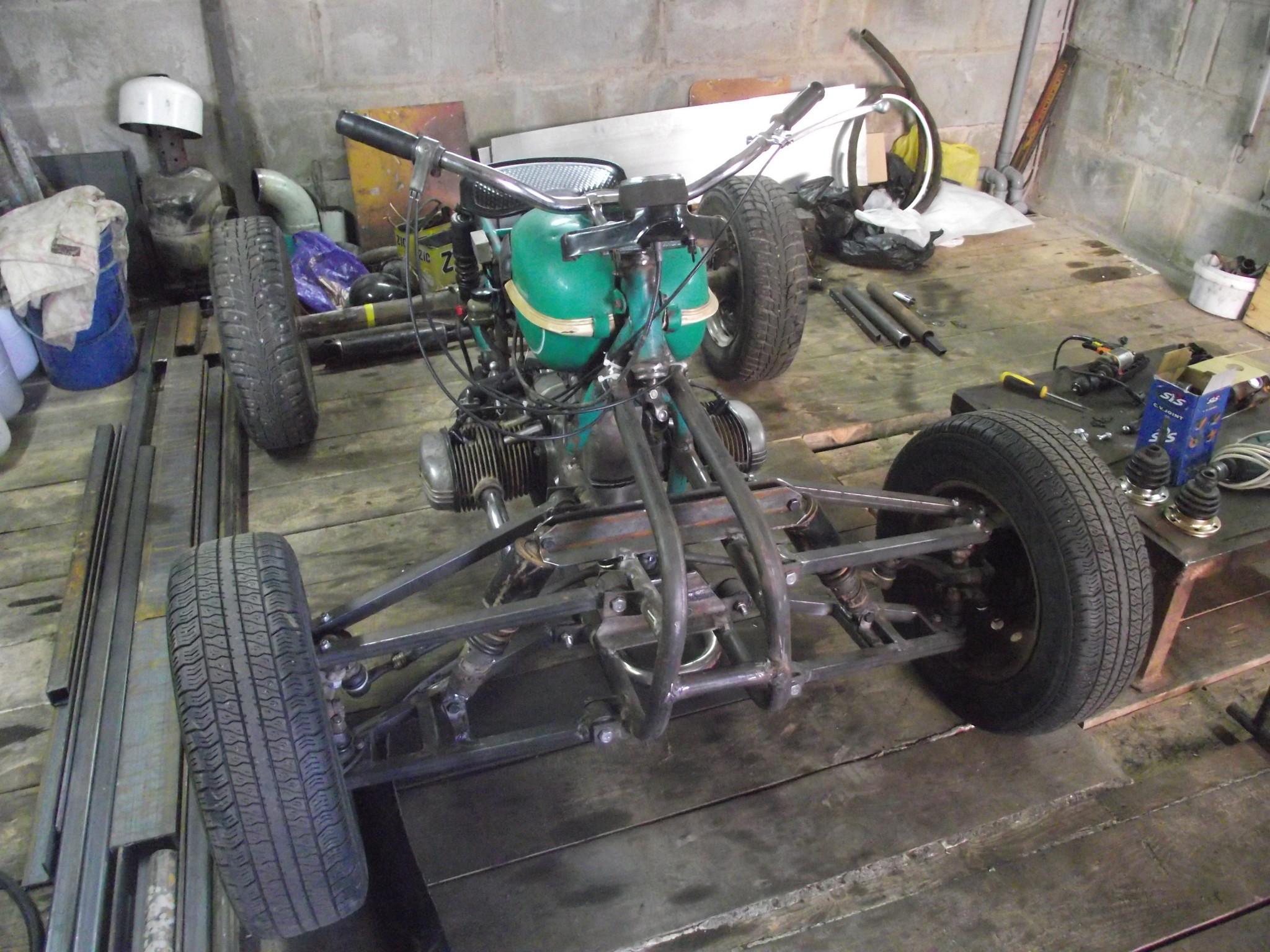 Чертежи квадроцикла на базе «Урала» - Квадроциклы 59