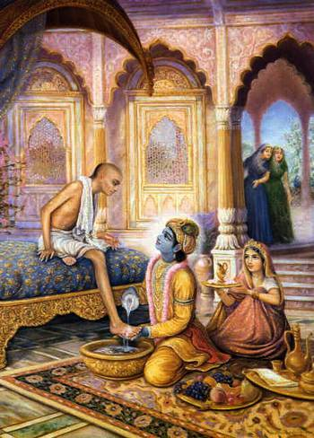 Кришна и Судама