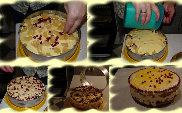 бисквитные сладкие пироги рецепт фото