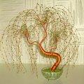 Моё увлечение- бисер.  Обожаю составлять бисерные композиции из цветов и деревьев.  Это настоящее волшебство' когда...