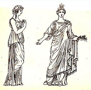 Одежда античности Путешествия во времени