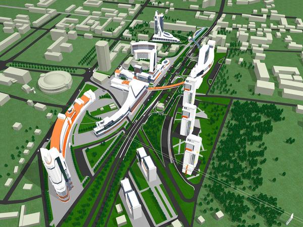 транспортной схемы города;