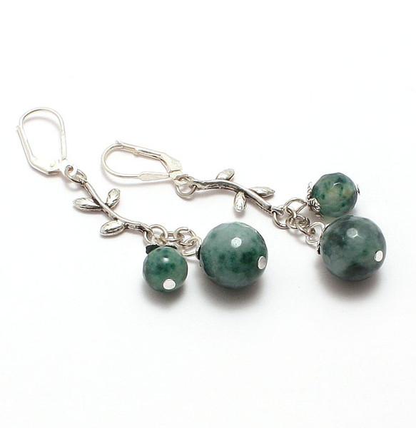 браслет серьги длинные бусы ожерелье натуральный кварц камни авторские украшения