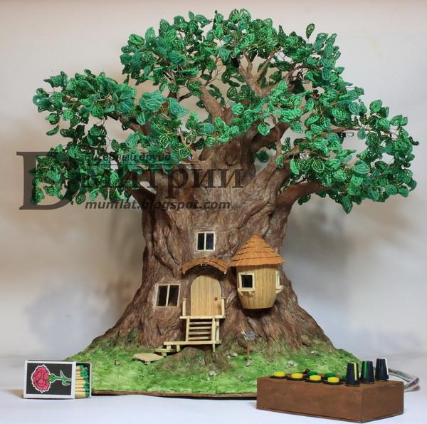 Ночной светильник волшебное дерево