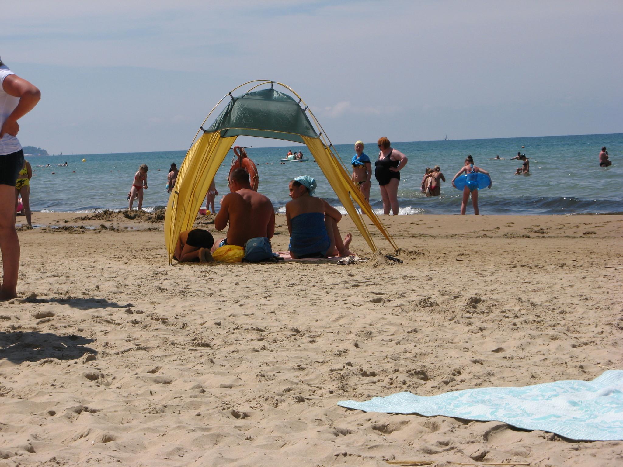 Джемете фото центрального пляжа