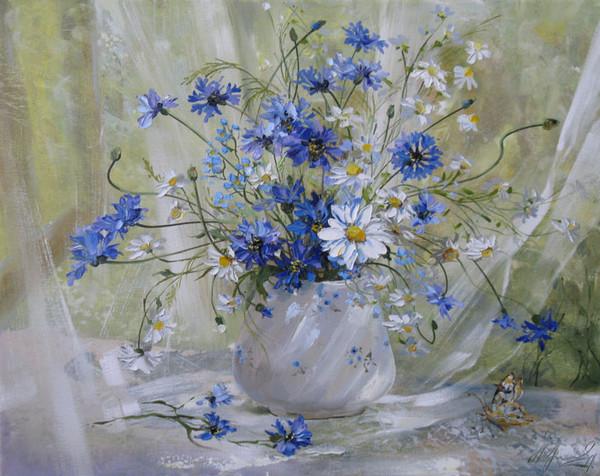 Цветочки полевые и луговые цветы