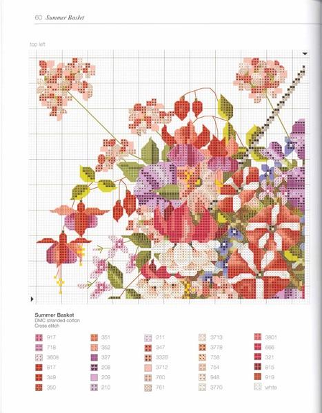 Вышивка крестом цветы журнал