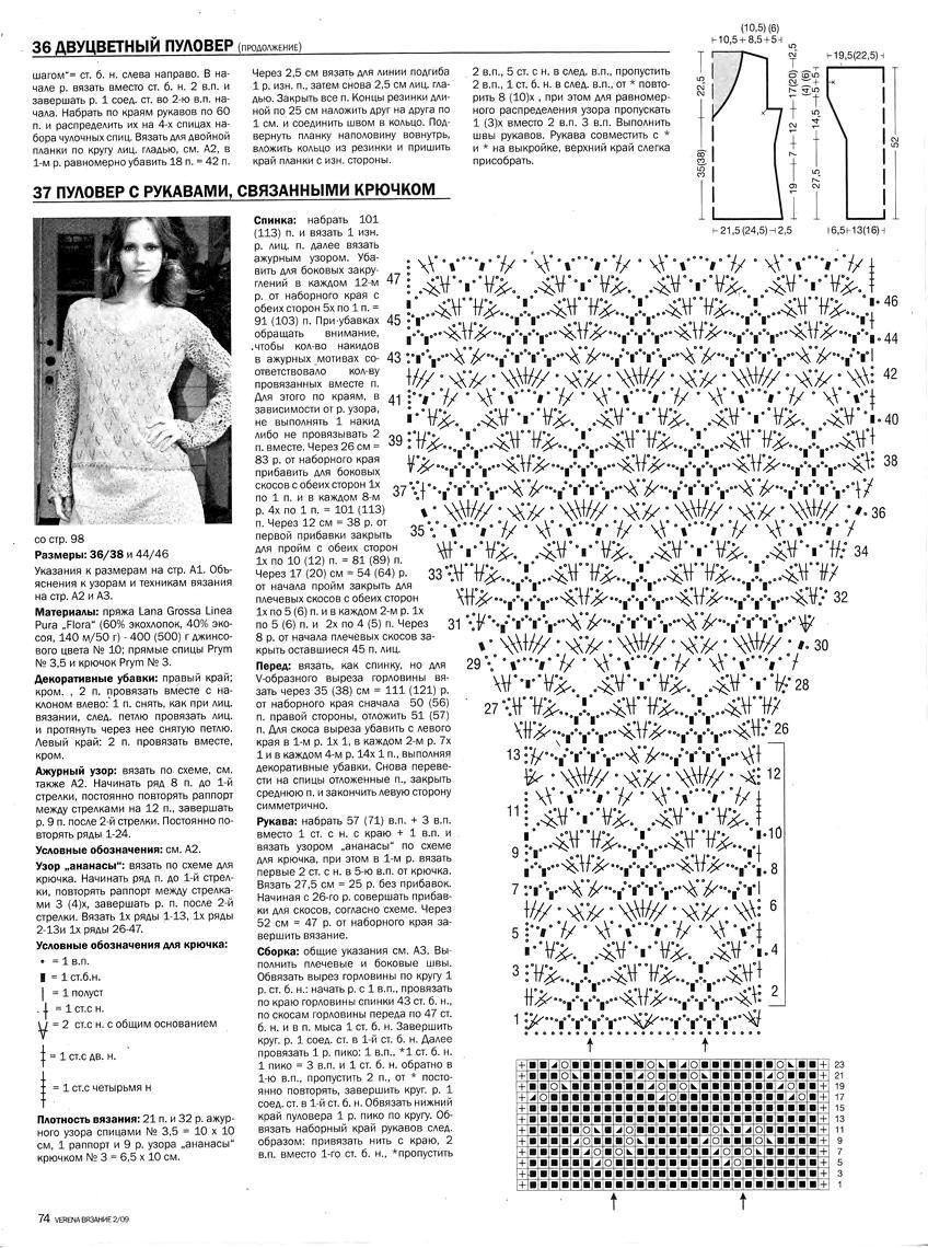 Схемы и модели для вязания журналы 218