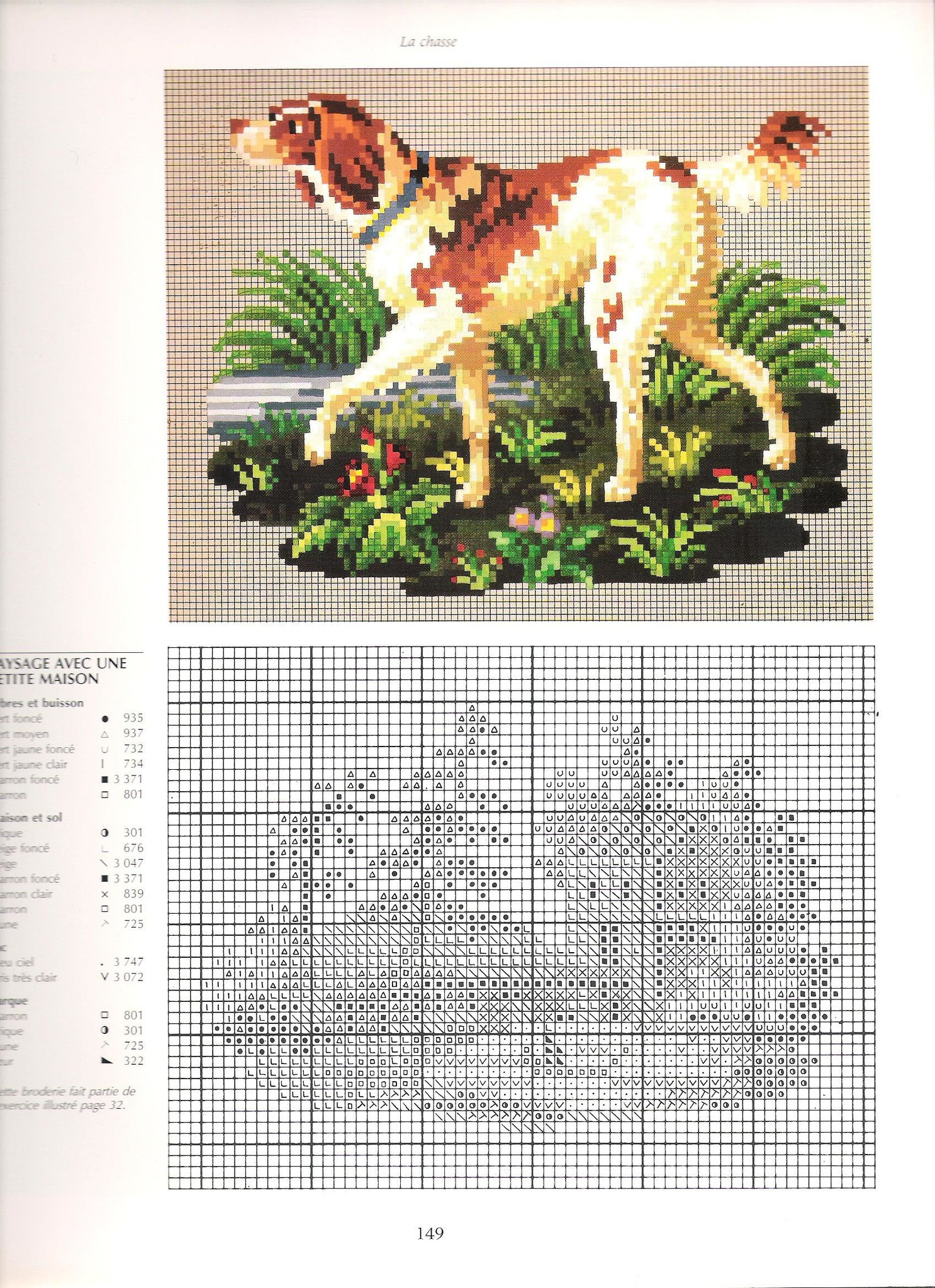 Схемы старинных вышивок бисером 91