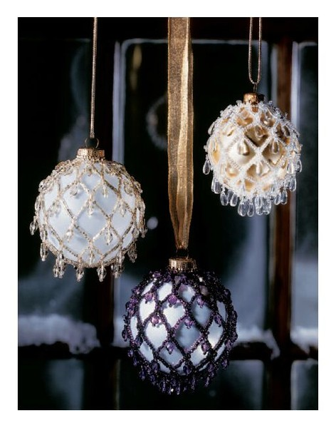 Из чего можно сделать шары на елку