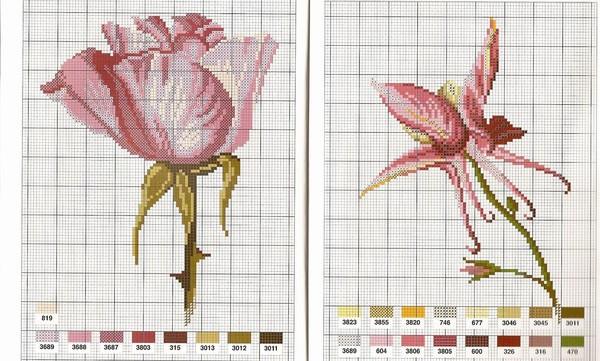 Журнал: Flowers fleurs