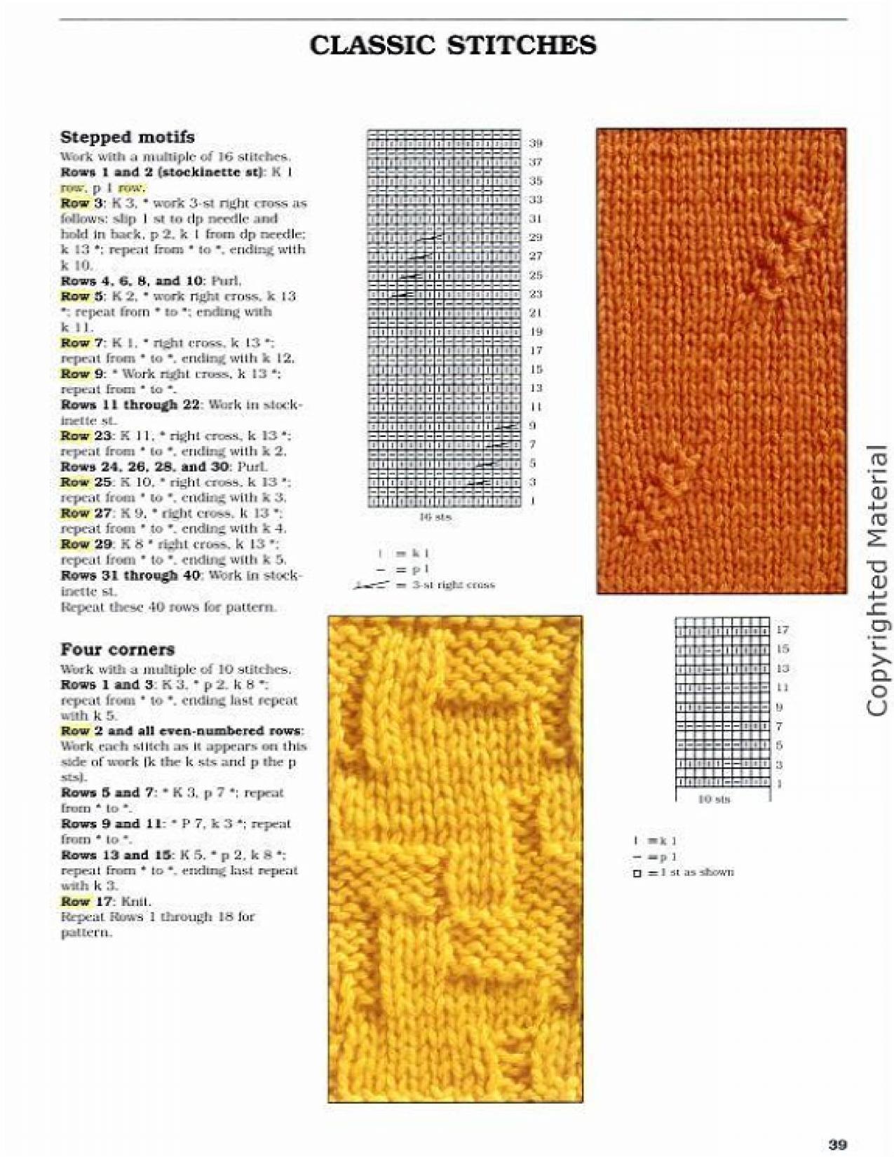 Big Book Of Knitting Stitch Patterns Free Download : ?????: Big Book of Knitting Stitch Patterns 2005 (???????, ?????, ?????) - ??...