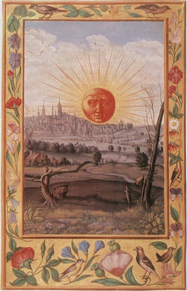 Блеск солнца