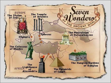 7 чудес света I-1625