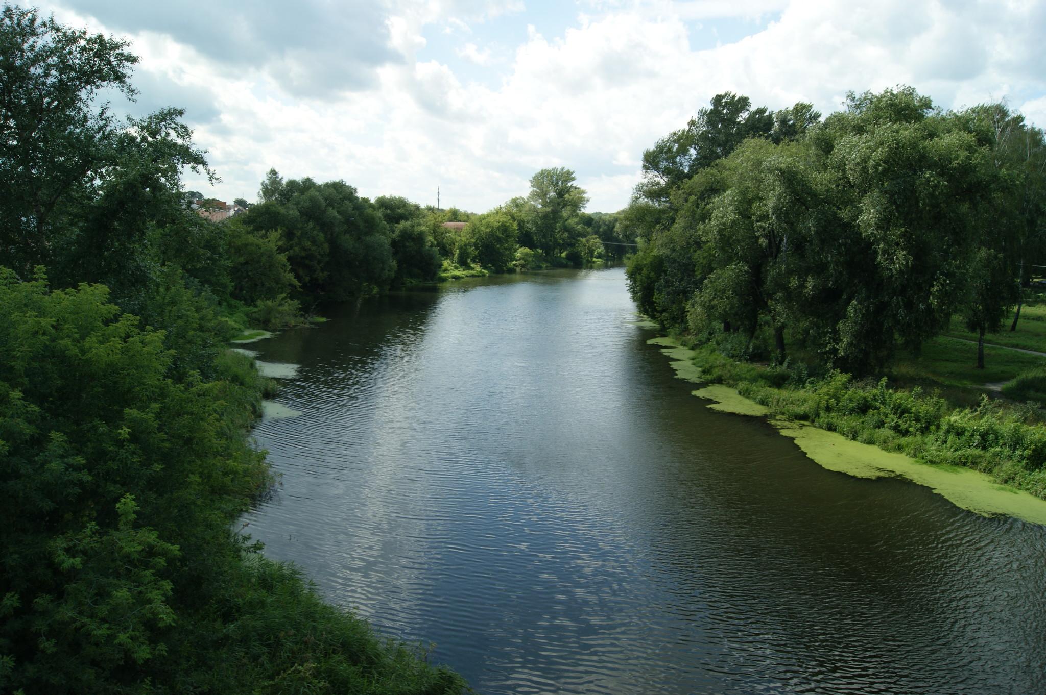Река Орлик, фото Романа Есикова