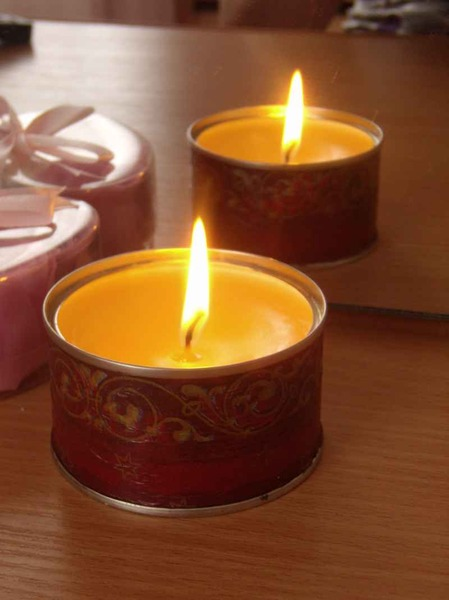 candles decorating tutorial