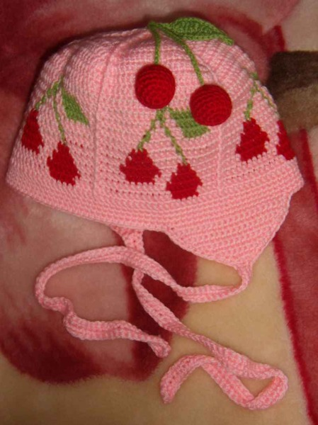 """strawberry"" cap crochet tutorial"