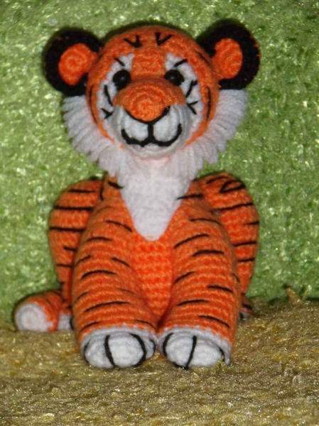 tiger crochet tutorial