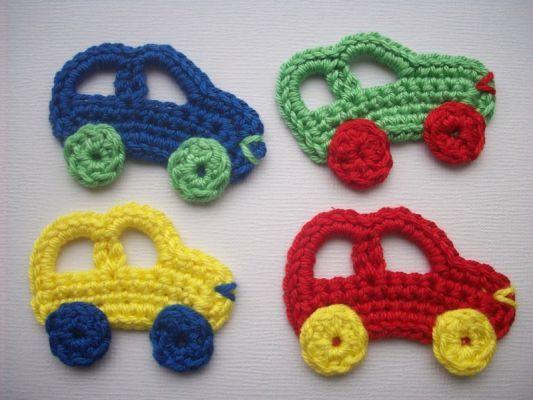 crochet small motif: more ideas