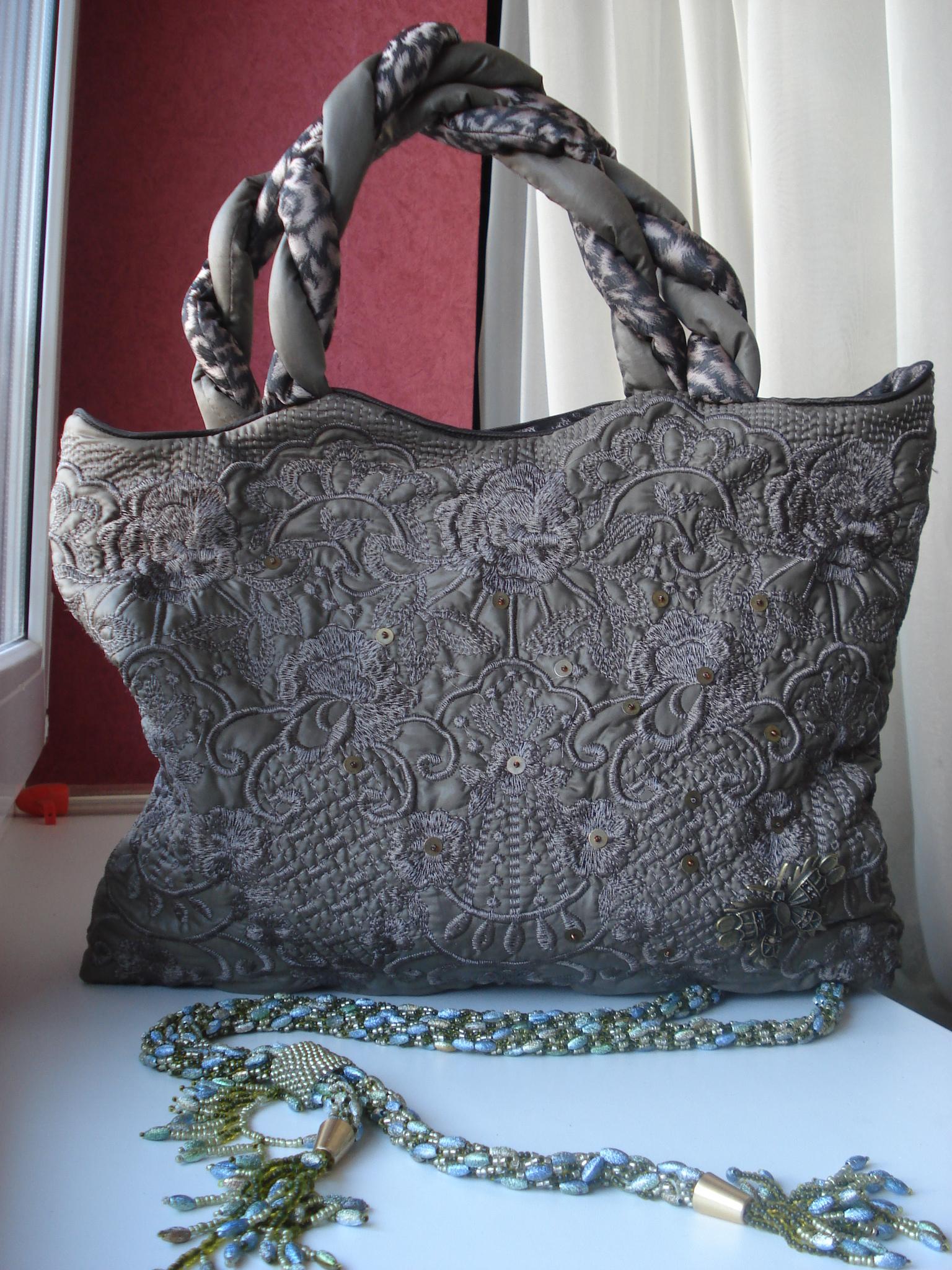 Как украсить старую сумку своими руками: мастер 94
