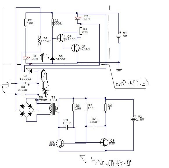Реальные - на синхронизации кт315, на преобразователе кт803 тиристор КУ201Л Напряжение 200 вольт макс.