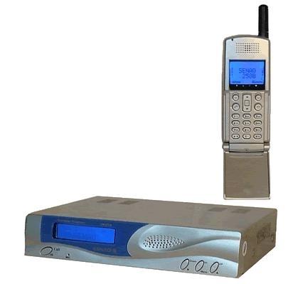 Радиотелефон SENAO SN-258 Flip (нажмите, что бы увеличить фото) .
