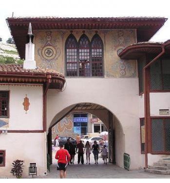 Облик ханского дворца «Хансарай»