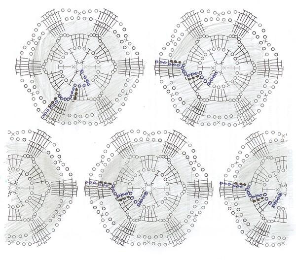 Вязание крючком модели с подиума схемы 10